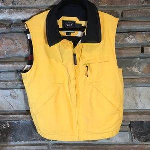 Paul & Shark Yachting Vest Yellow Nautical